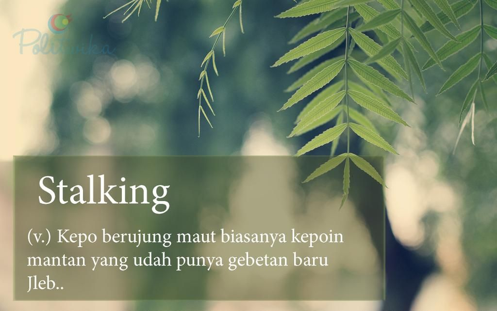 Stalking Words Quotes Cinta Quotes Cool Words