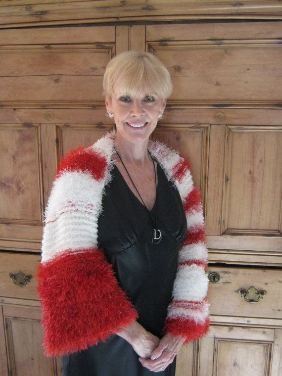 Chunky Shrug  Hand Knitted Perfect For Your Wedding by MaisonDArcy, $250.00