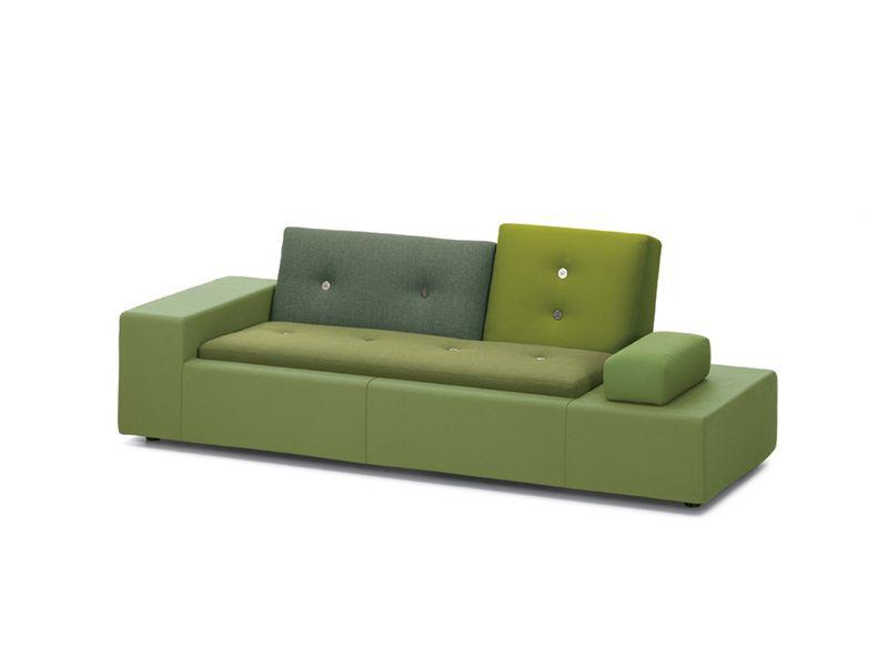 Upholstered Sofa Polder Sofa Polder Collection By Vitra Design