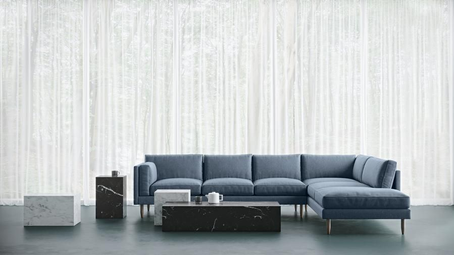We Make Custom Sized Modern Sofas 60 Fabric And Leather Options Free Delivery 100 Day Returns And Every Sofa Is Handmad In 2020 Modern Sofa Living Room Home Decor