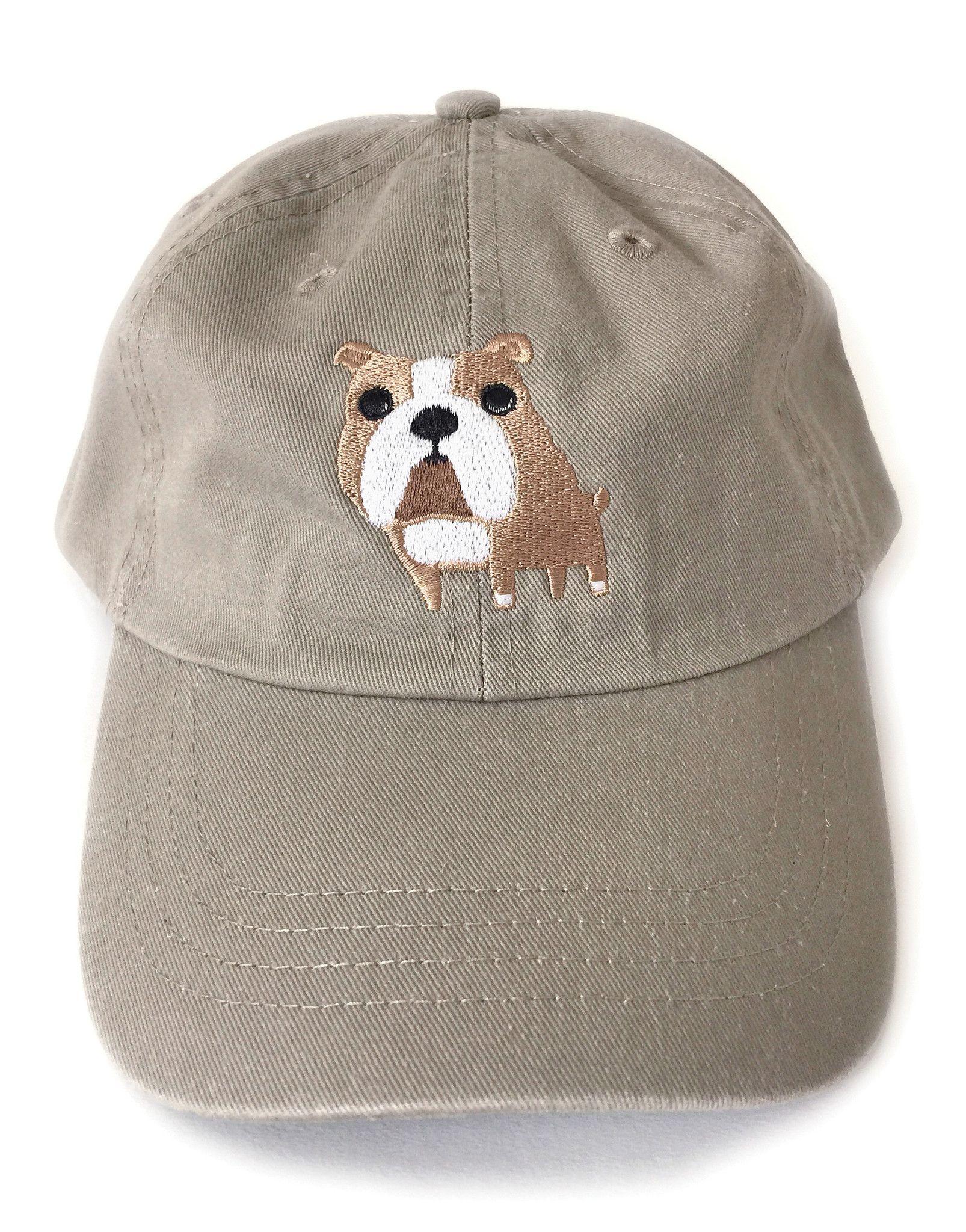 607cd5b6c90 Bulldog Embroidered Baseball Cap
