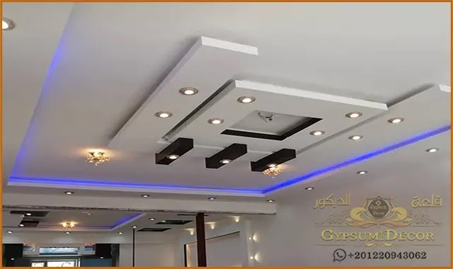 ديكورات جبس بورد 2021 House Ceiling Design Coffered Ceiling Design Simple Ceiling Design
