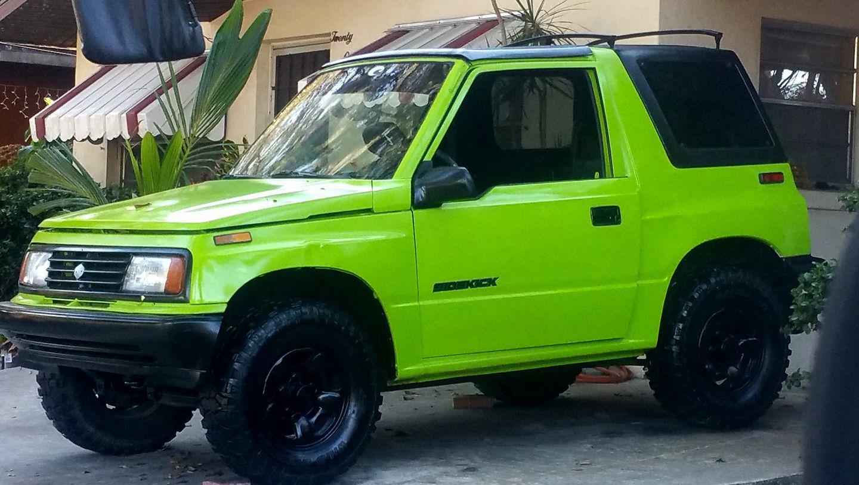 Gecko Green Sidekick Suzuki Samurai Suzuki Jeep