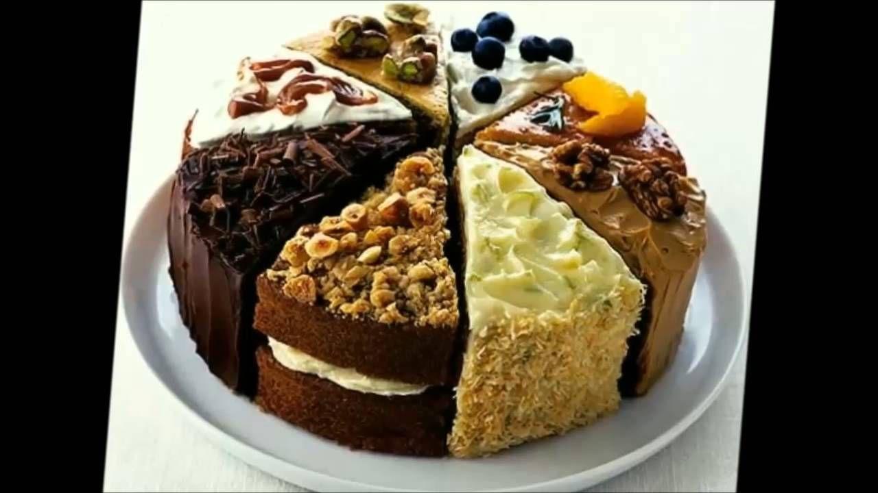 Cake store advertisement coffee and walnut cake walnut