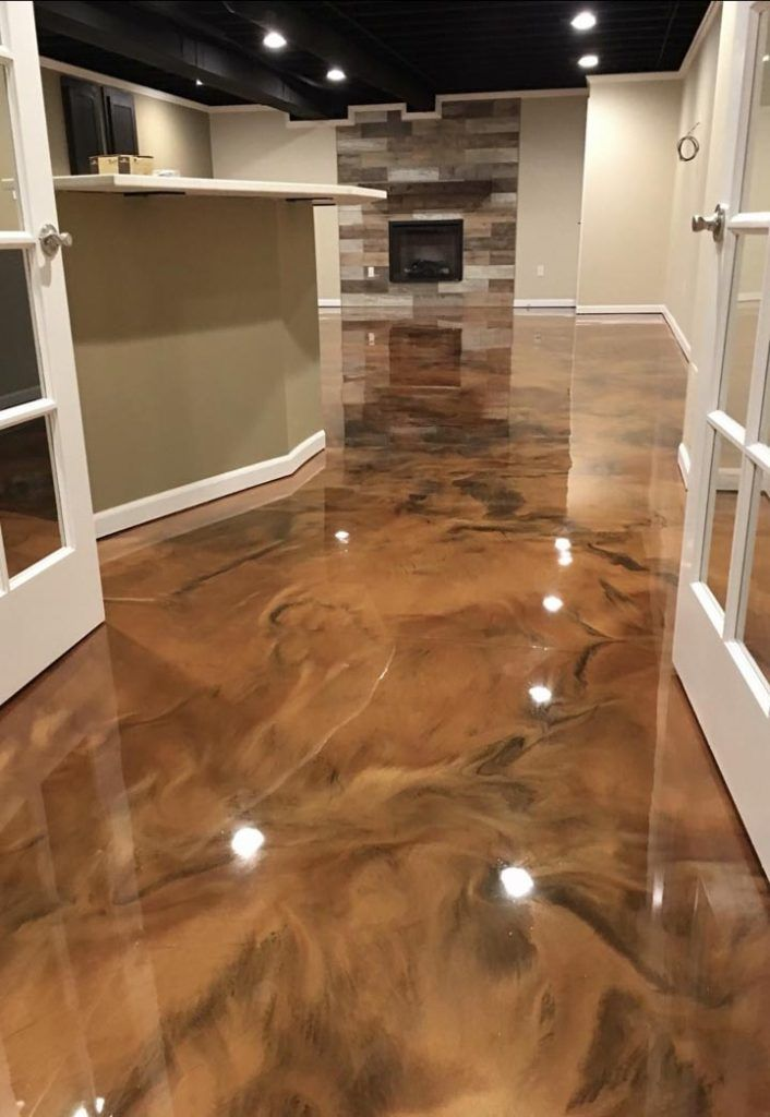 Paper Bag Floor Over Linoleum Epoxy Floor Metallic Epoxy Floor Concrete Stained Floors