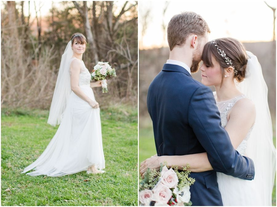 A Winter Clifton Inn Wedding in Charlottesville, VA with