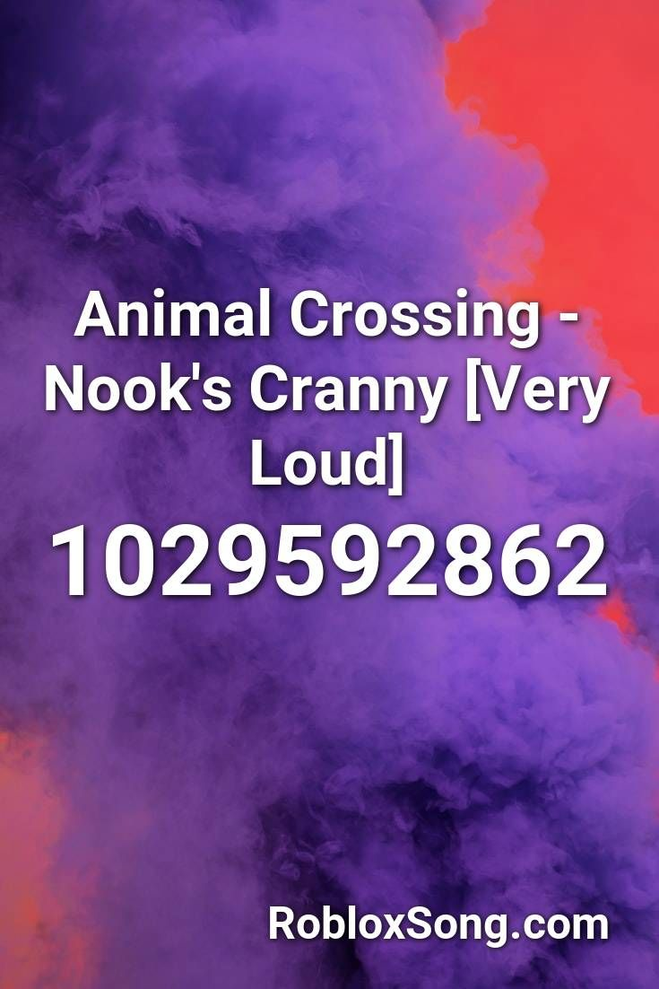 Morph Ids For Roblox Animal Crossing Nook S Cranny Very Loud Roblox Id Roblox Music Codes In 2020 Animal Crossing Roblox Animal Crossing Wild World