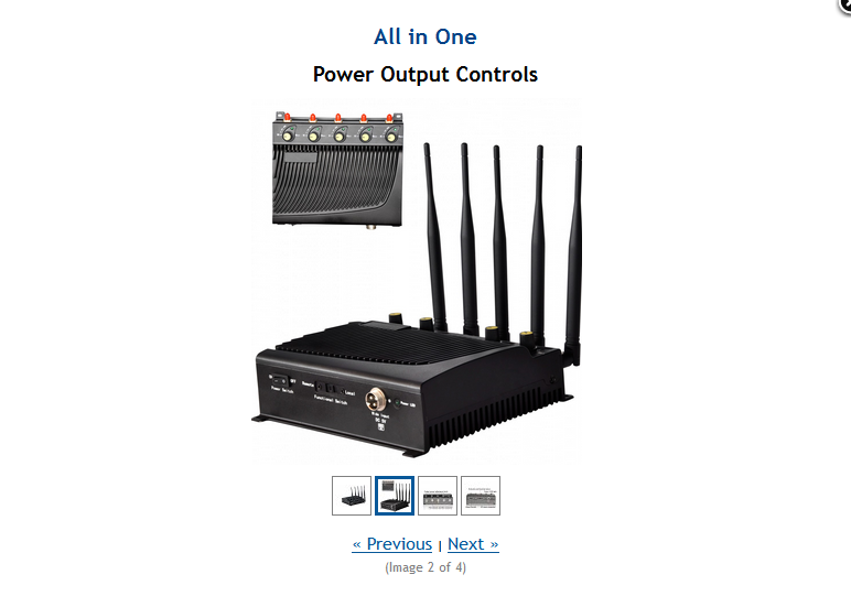 Cell phone jammer equipment | man drives with cell phone jammer