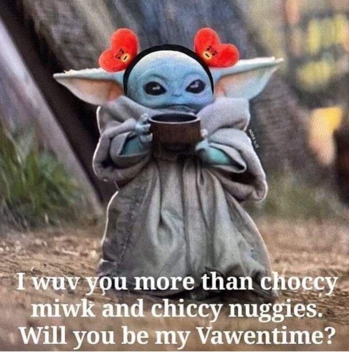 Pin By Sienna On Baby Yoda Yoda Meme Cute Memes Star Wars Humor