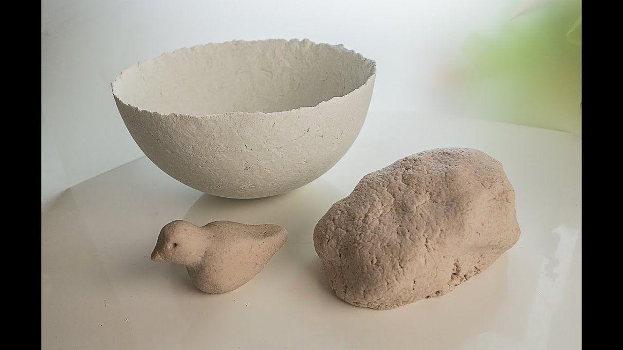 How To Make DIY Paper Clay Best Recipe!   clay idea   Paper mache
