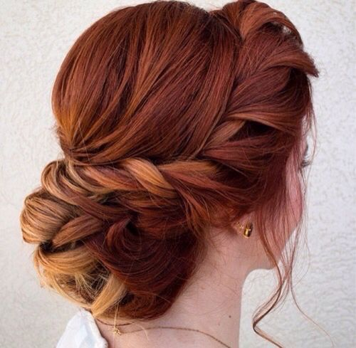 Wedding Hairstyle For Long Hair Tutorial: Bridesmaid Hair, Prom