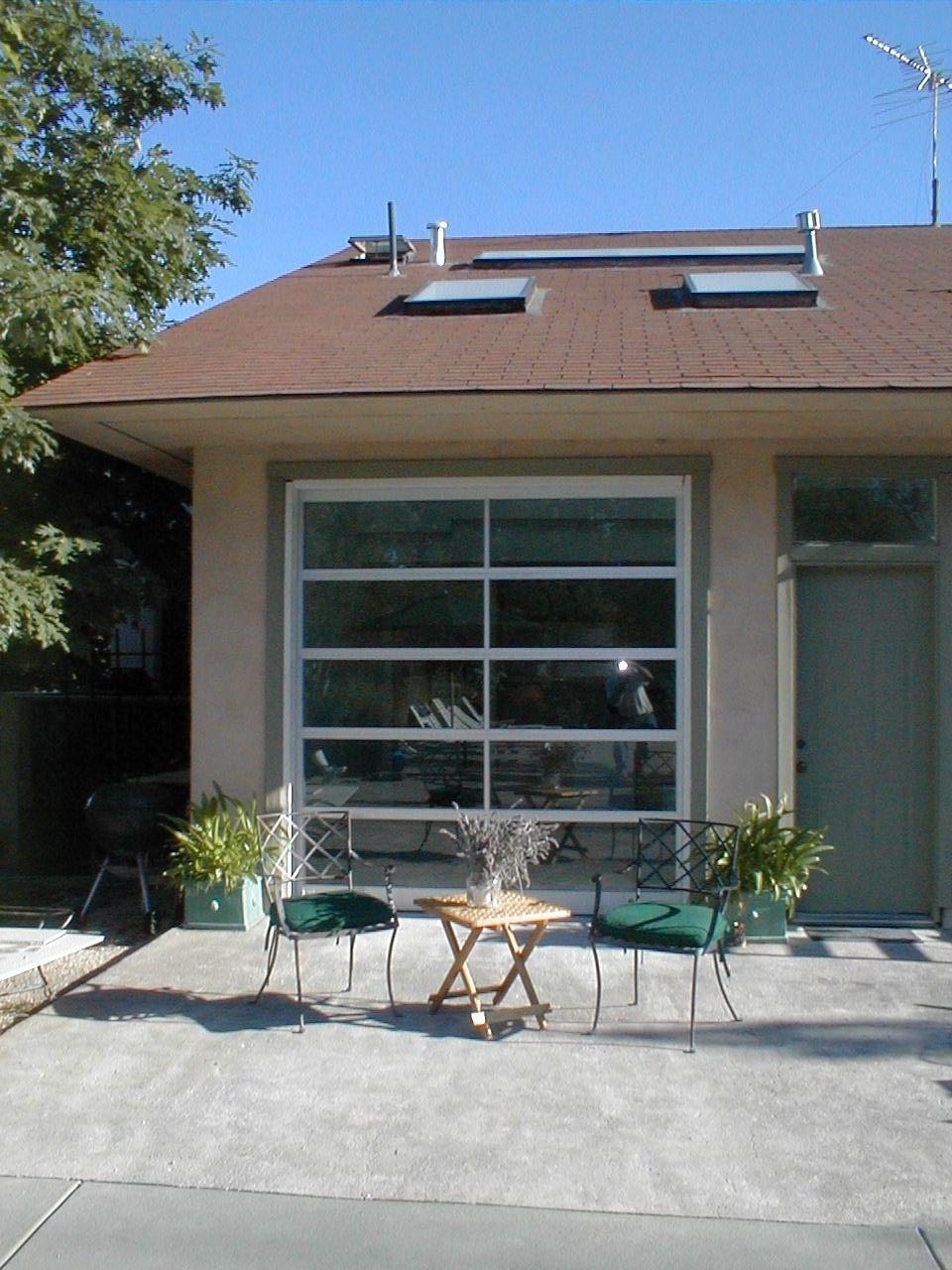 Porch Ideas Love The Glass Garage Doors Pergola Garage Door Garage Door Design Garage Door Types