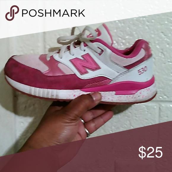 new balance dirty pink