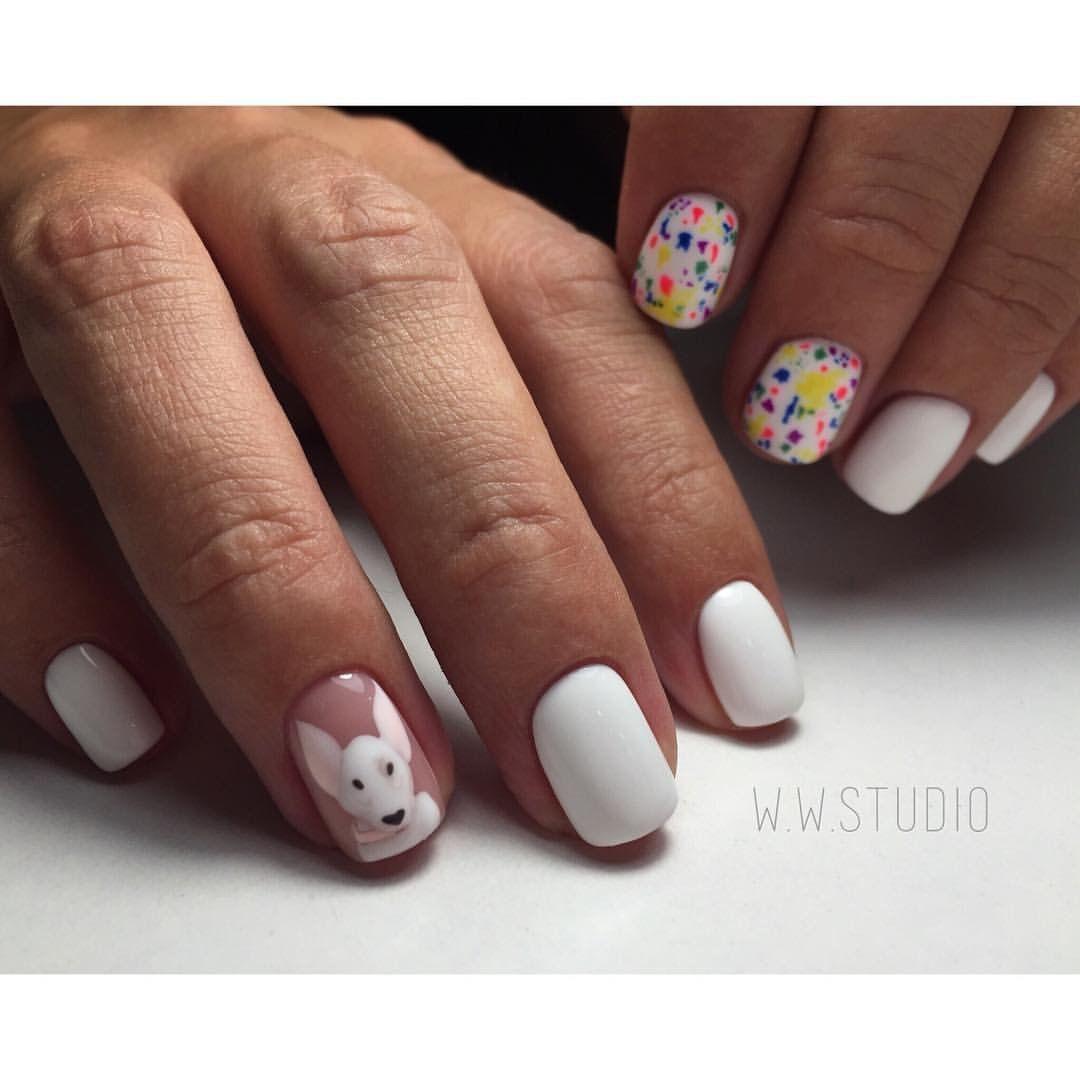 Beautiful summer nails drawings on nails ideas for short nails