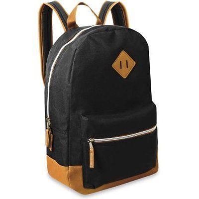 Lot of 48 Wholesale Bulk 18 Black Backpacks Backpack Bag School New
