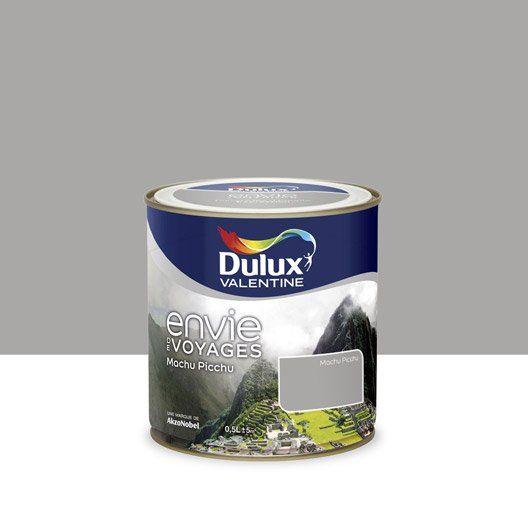 Peinture Envie de voyage DULUX VALENTINE, gris Machu Picchu moyen ...