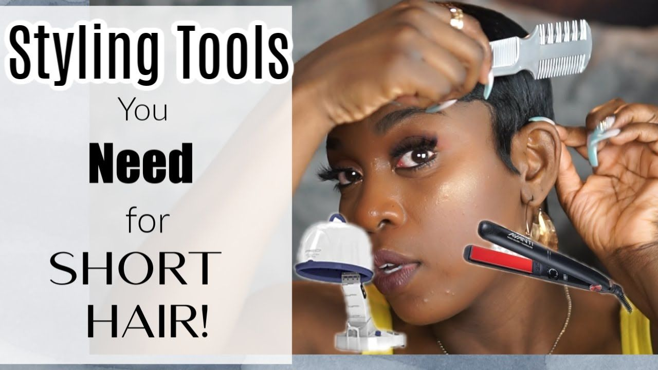 Styling Tools You Need For Short Hair! For Beginners in