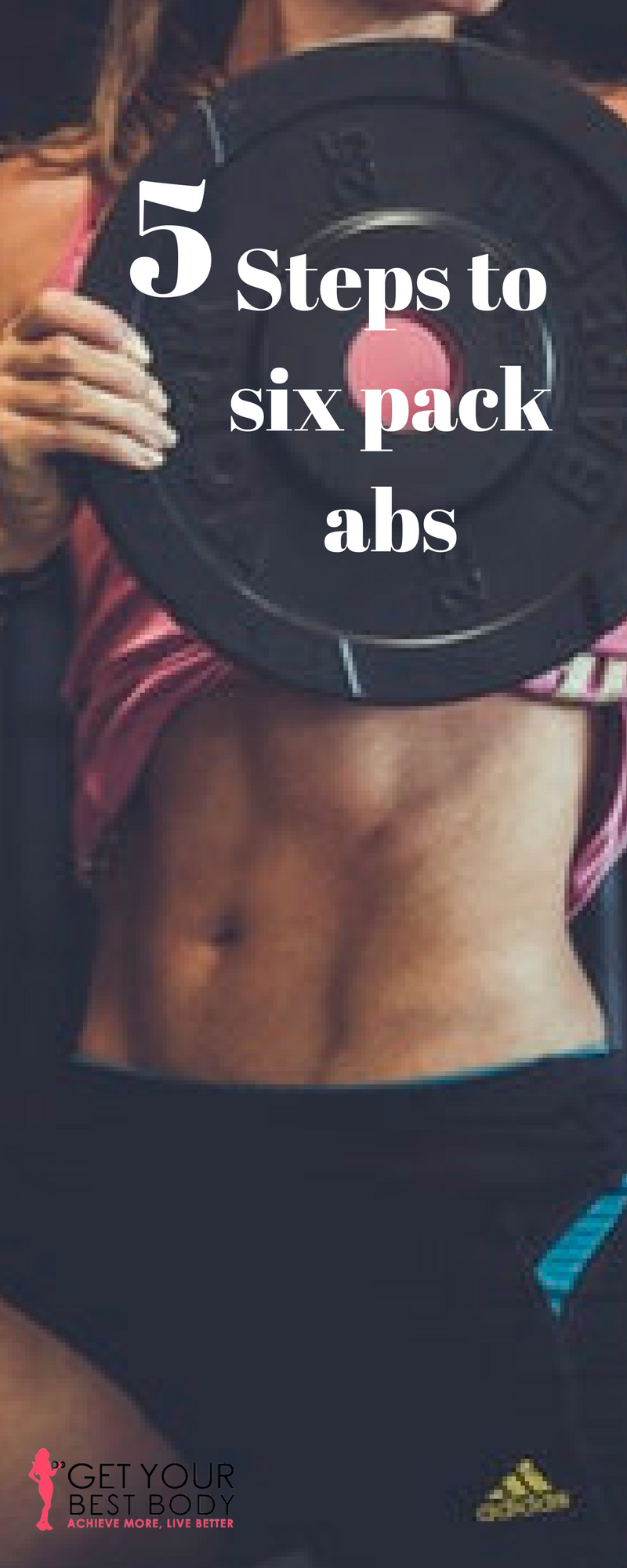 how to get a six pack fast female