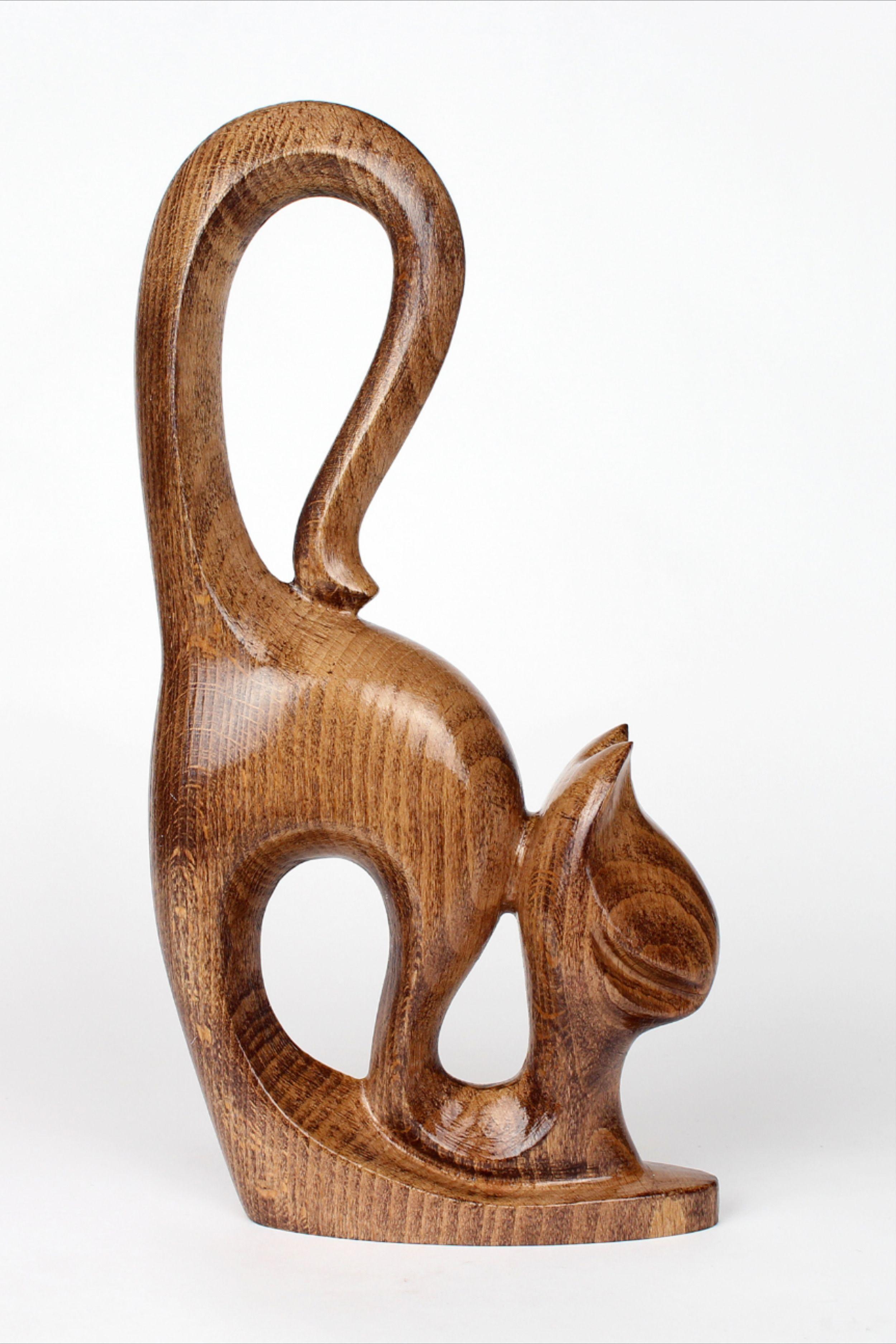 shelf decor original gift art rustic sculpture figurines christmas gift Ceramic sculpture garden ceramics