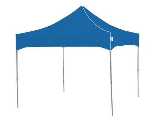 Kd Majestic Mf100b 10 Foot By 10 Foot Heavy Duty Aluminum Frame Indoor Outdoor Portable Canopy Royal Blue Portable Canopy Furniture Accessories Garden Canopy