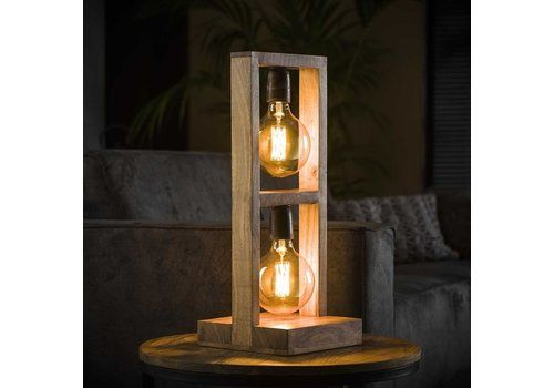 Lamp Decoration In Solid Wood LED Night Light Modern