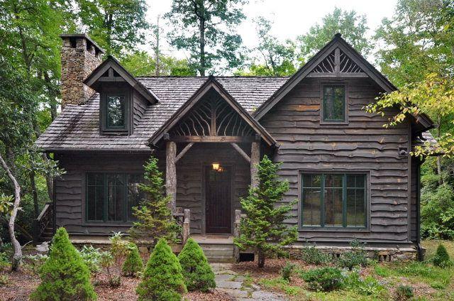 Cullowhee Nc Bridge Creek Real Estate For Sale 152 Covered Bridge Road Lake House Tiny House Inspiration Small House