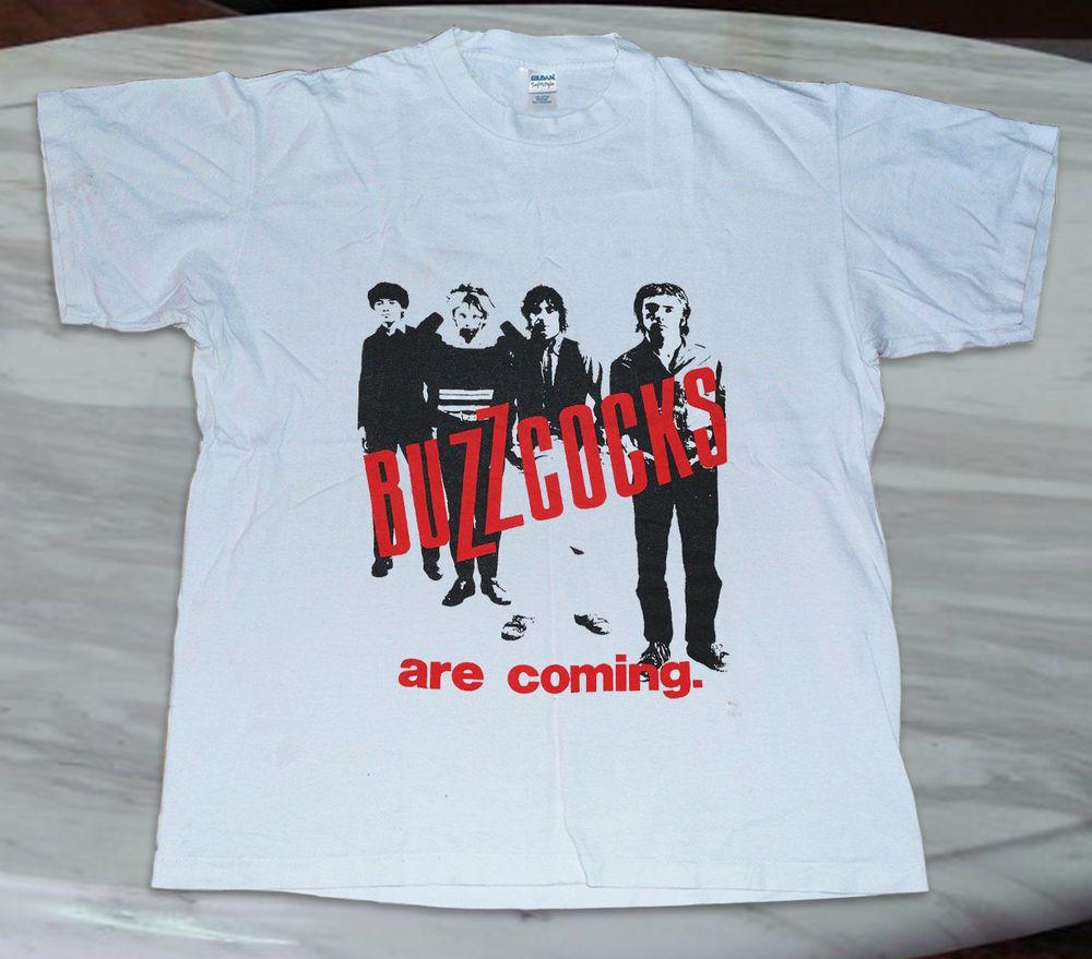 Vintage Buzzcocks Tshirt