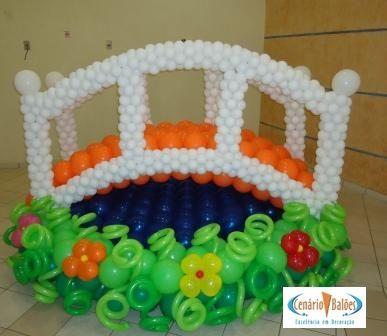 Jardim palloncini 2 Pinterest Globo, Decoración con globos y - imagenes de decoracion con globos