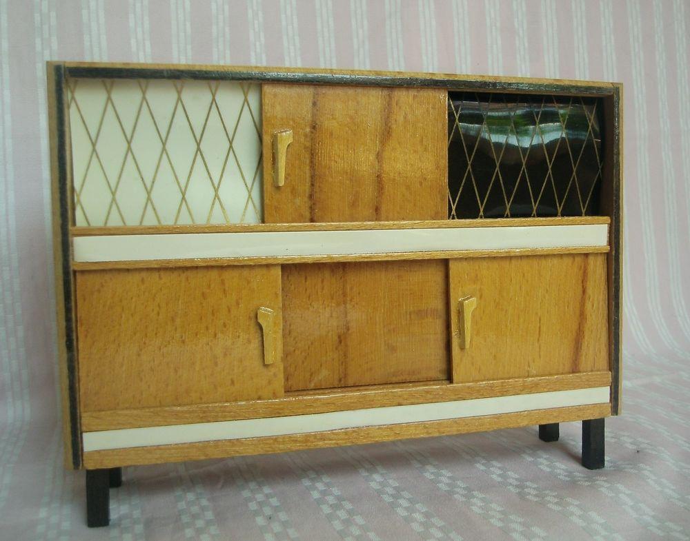 Alter Wohnzimmerschrank ~ Puppenstube wohnzimmer schrank ullrich & hoffmann wichtelmarke