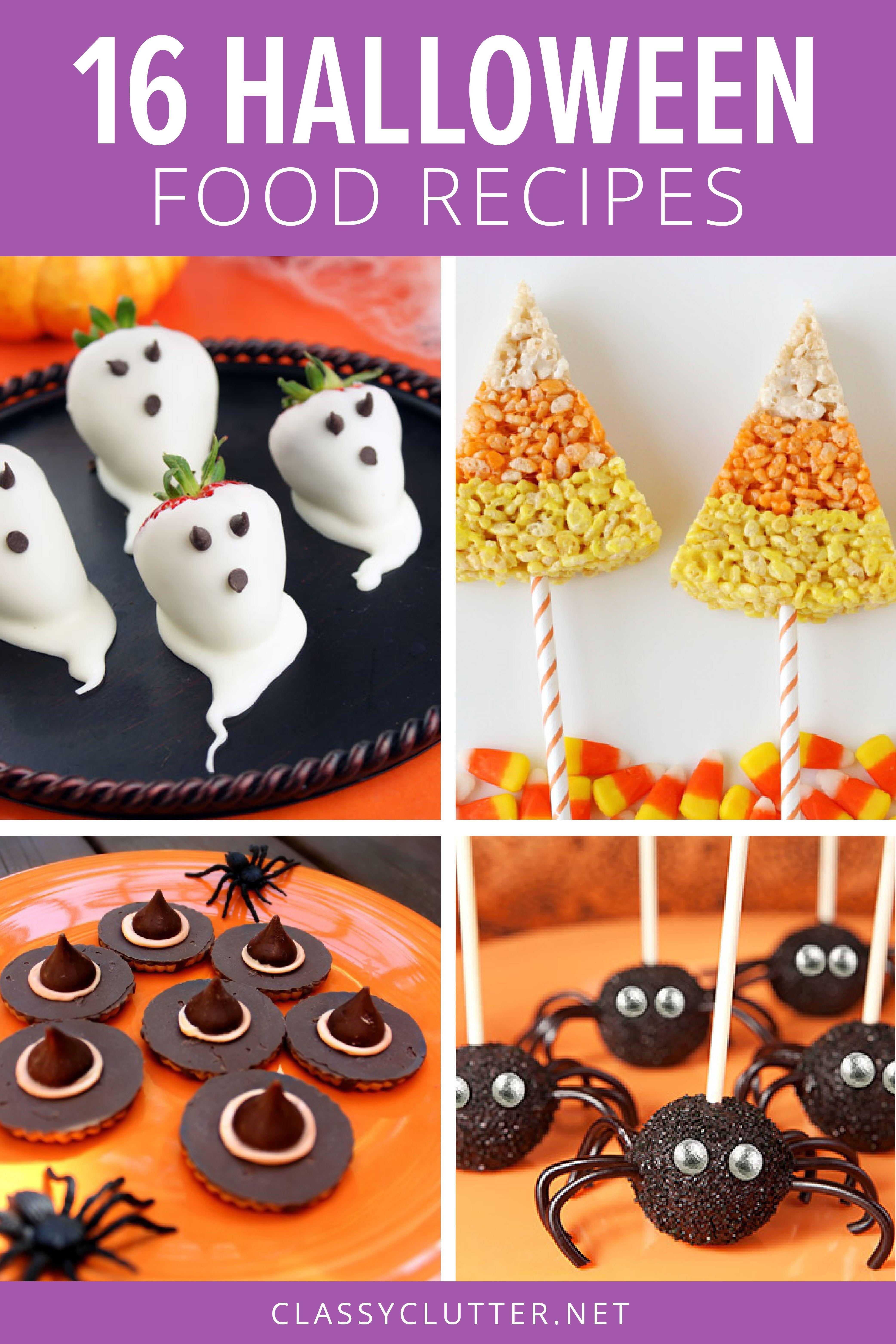 Halloween Parties 2020 Children 16 FUN Halloween Food Ideas in 2020 | Halloween party snacks, Fun