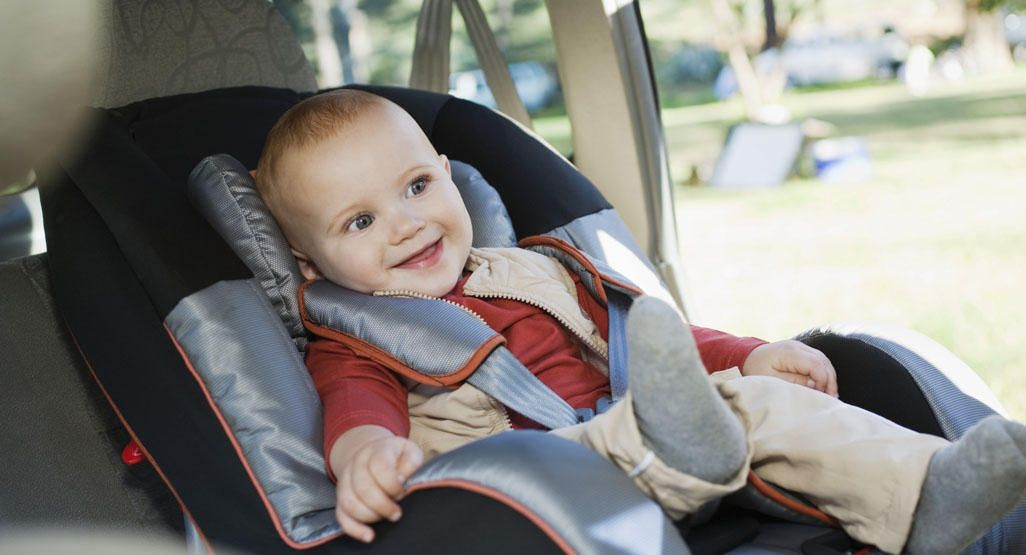 Traveling with a newborn to 8-month-old