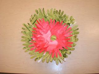 Poinsettia Flower Made Out Hand Prints Footprint Crafts Flower Making Poinsettia Flower
