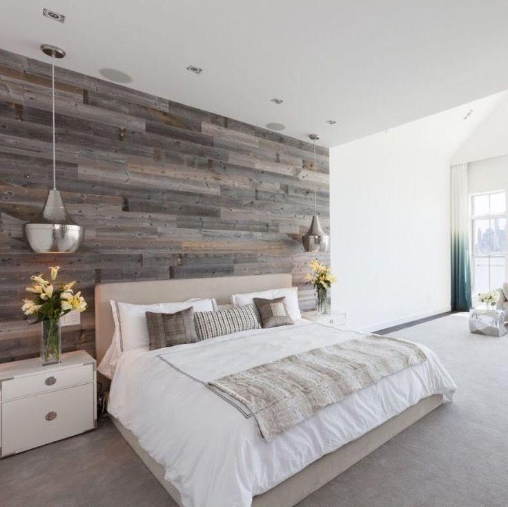 25 Ideen für das beste Hauptschlafzimmer von denen Sie träumen #woodfeaturewalls