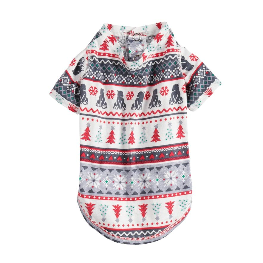 d43030a18 Pet Jammies For Your Families Polar Bear Fairisle Family Pajamas One ...