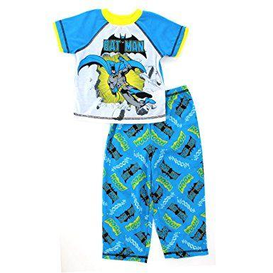 c5498be41c DC Comics Batman Blue Toddler Poly Pajamas