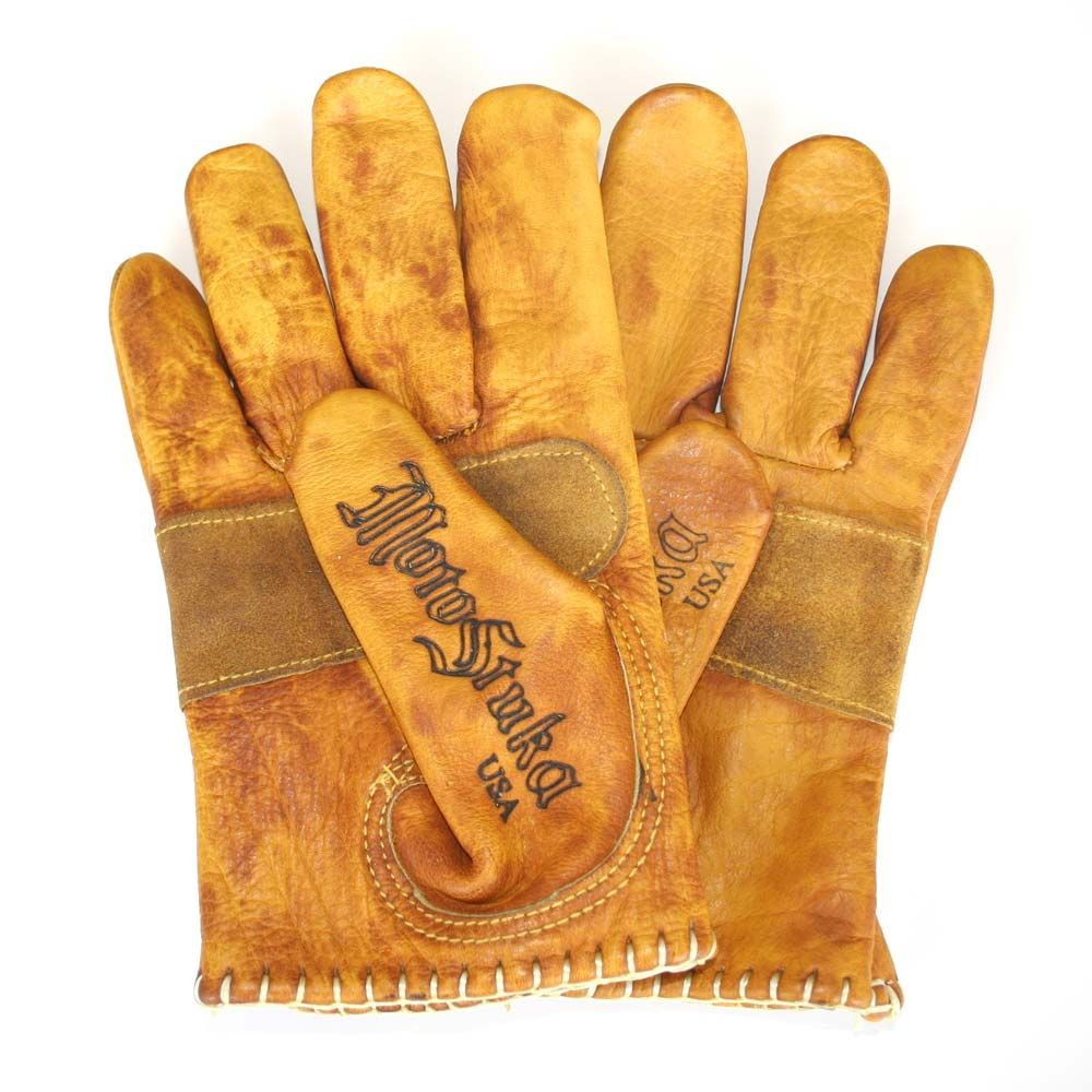 The MotoStuka Shanks gloves are a hand finished motorcycle ...