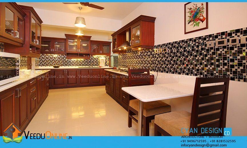 120 Square Feet Contemporary Home Kitchen Interior Design
