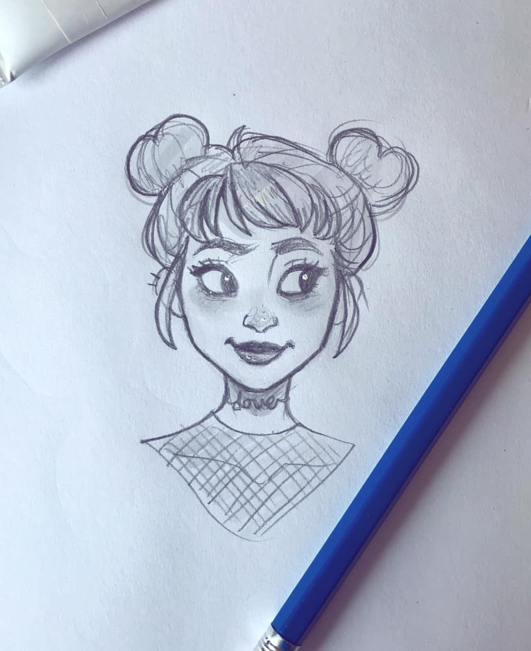 A little pencil sketch. Been busy and feeling kinda art blocked lately #drawing ...