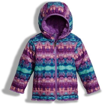The North Face Girl's Reversible Mossbud Swirl Insulated Jacket ...