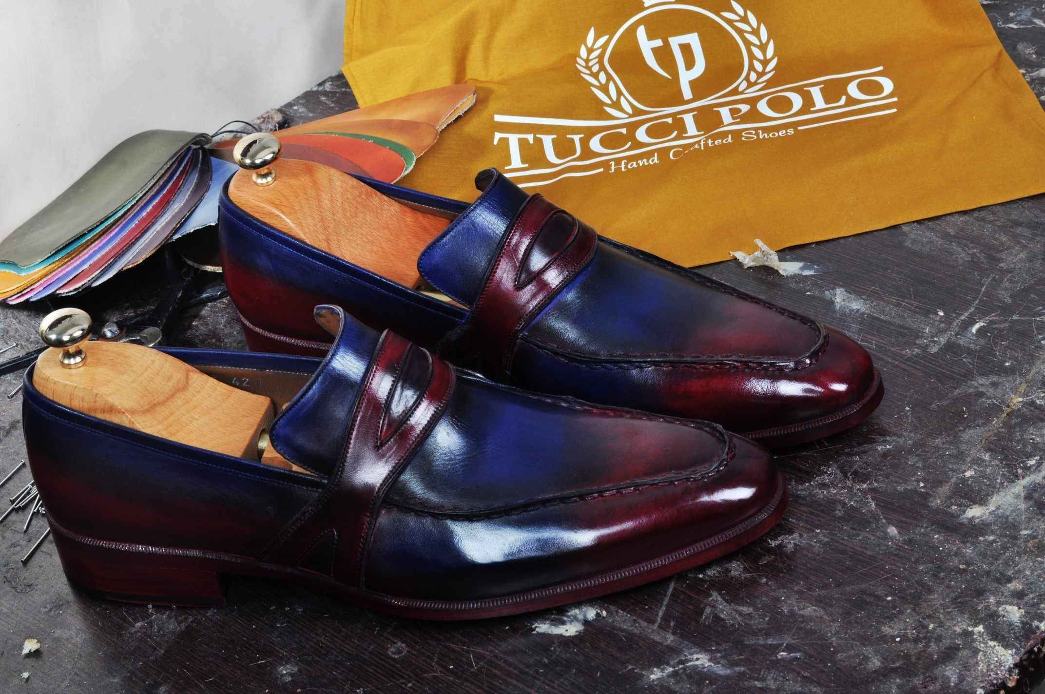 Mens Luxury Shoes Tuccipolo Mens Handmade Italian Leather Luxury