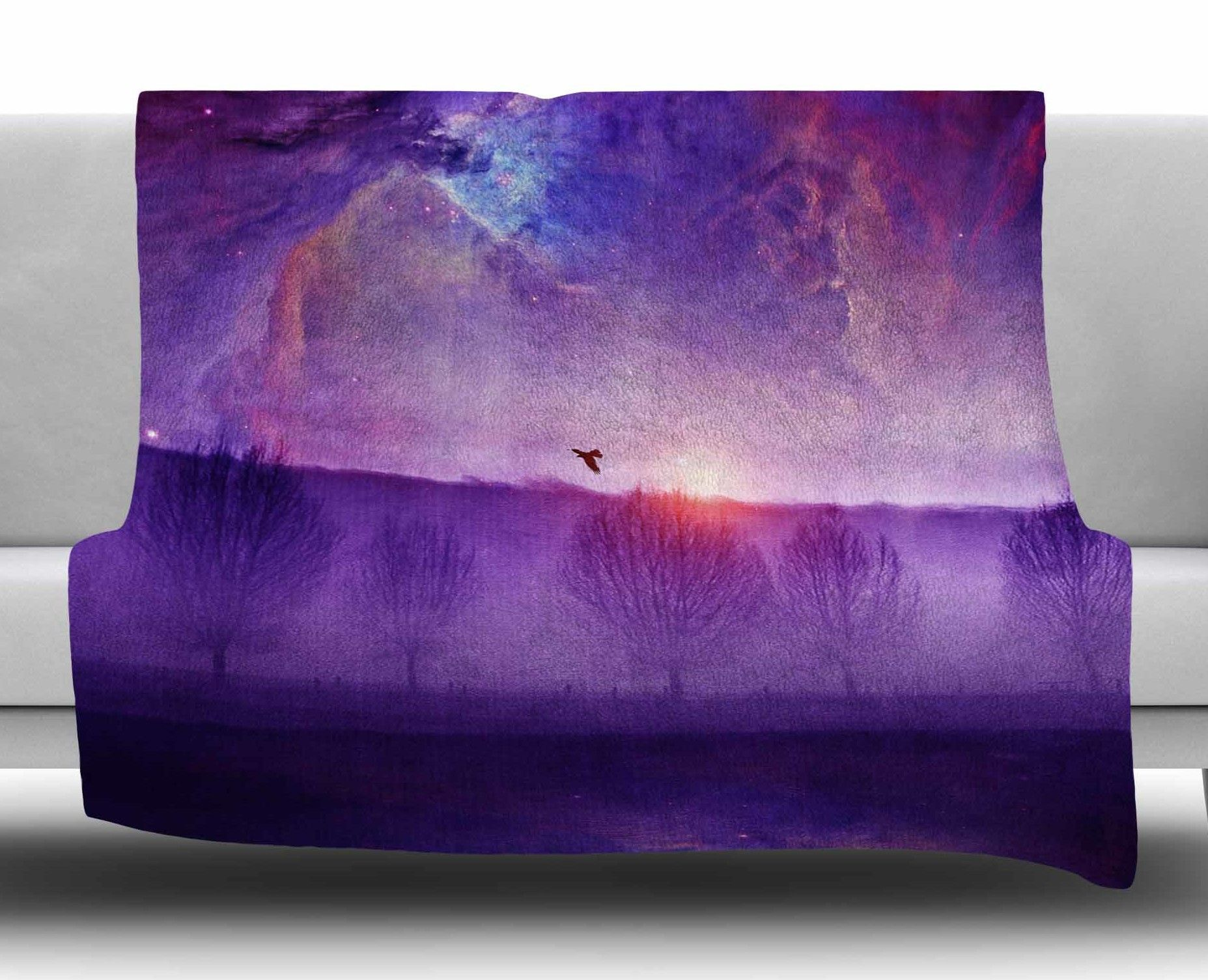 Orion Nebula by Viviana Gonzalez Fleece Blanket
