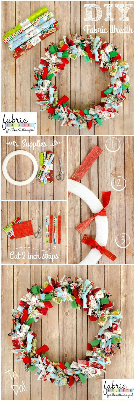 Photo of No-Sew fabric wreath is charming for every season – Quilting Digest