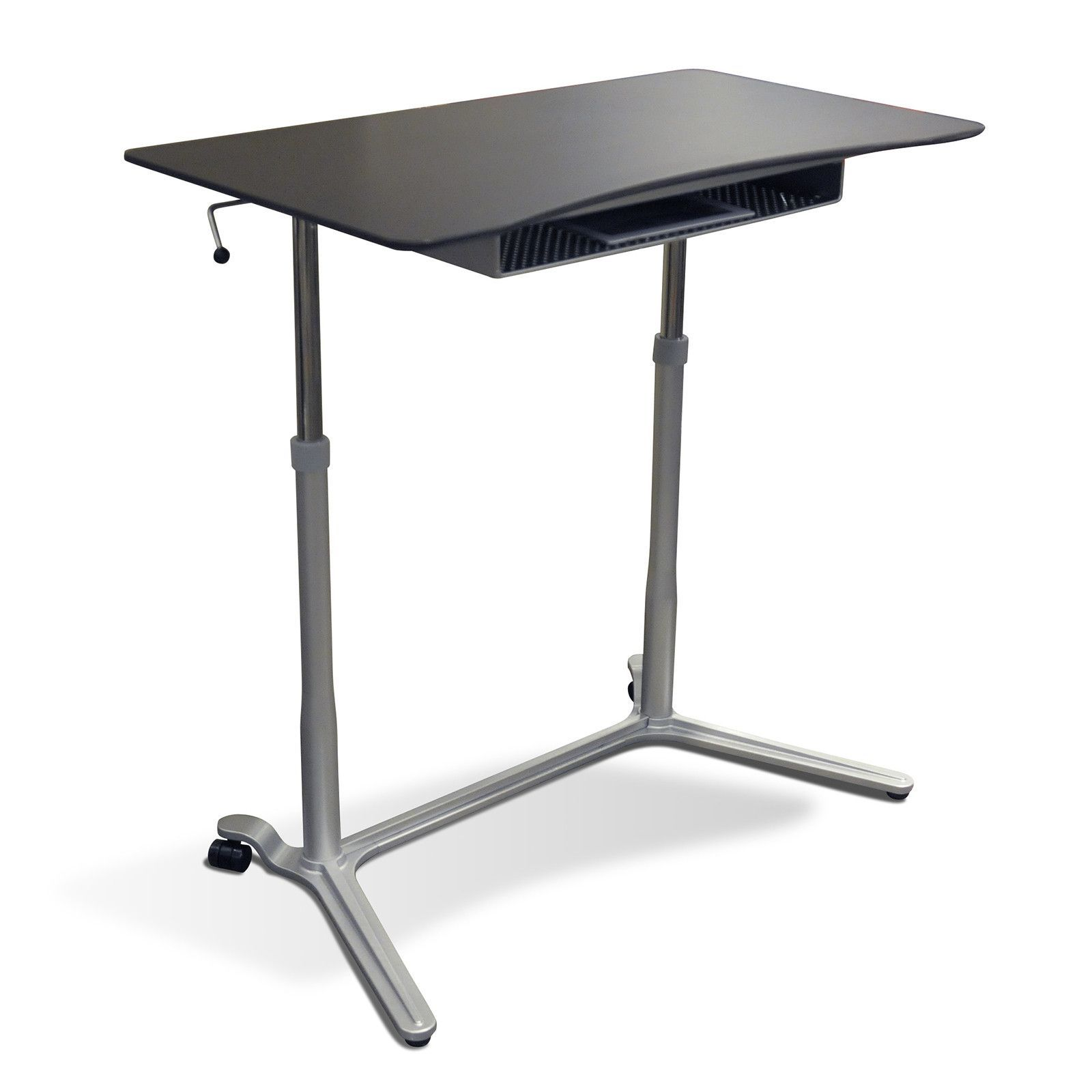 Office folding tables jesper office  height adjustable sit stand desk in espresso
