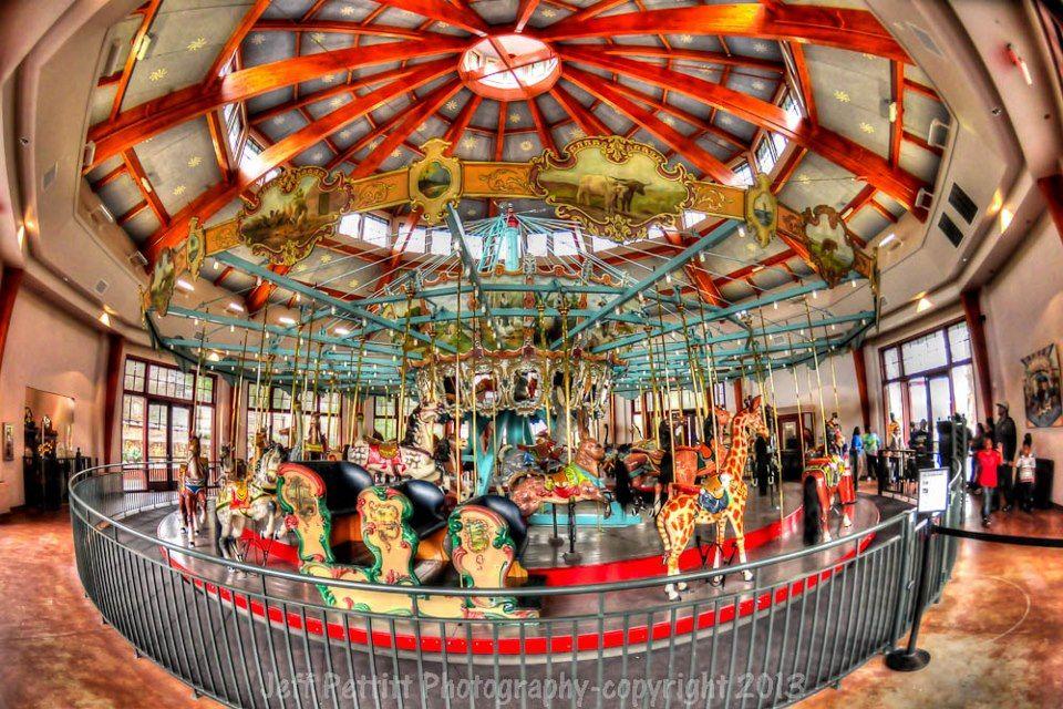 Pullen Park Christmas 2019.Pullen Park Carousel Jeff Pettitt Photography Moving To