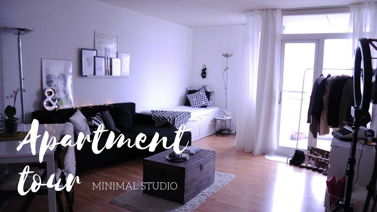 Minimal Studio Apartment Tour Berlin 2017