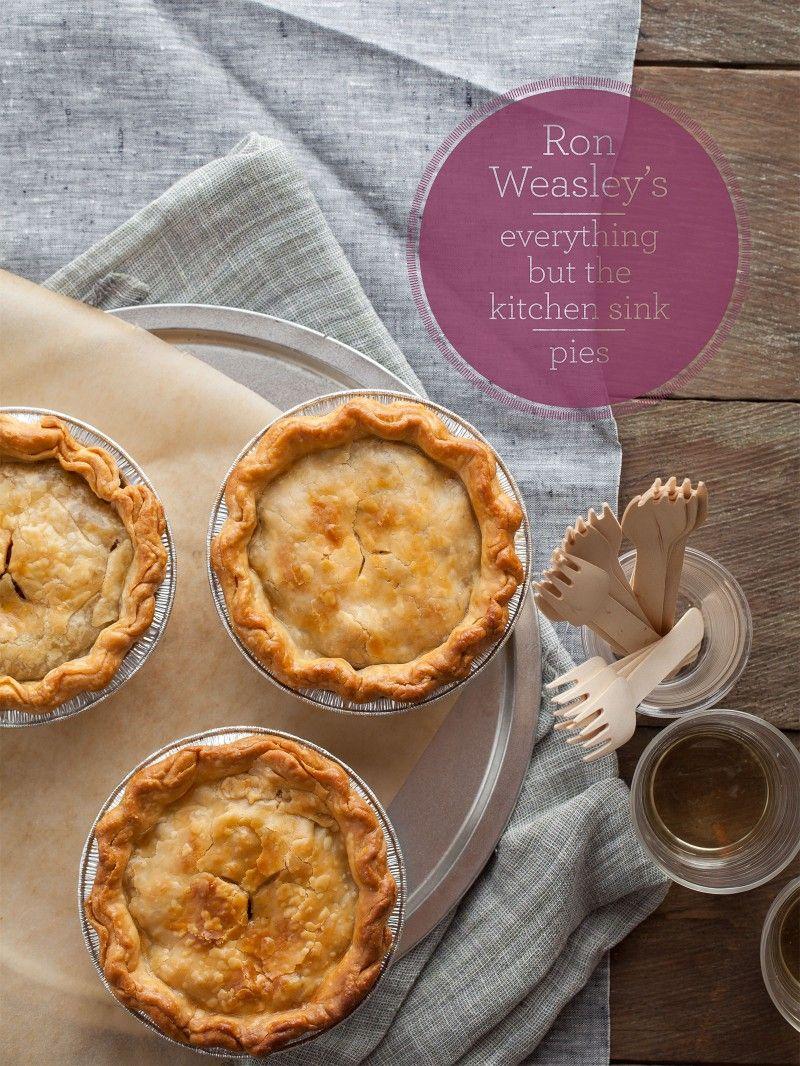 Ron weasleys eveything but the kitchen sink pie recipe ron ron weasleys eveything but the kitchen sink pie recipe ron weasley pie recipes and sinks workwithnaturefo