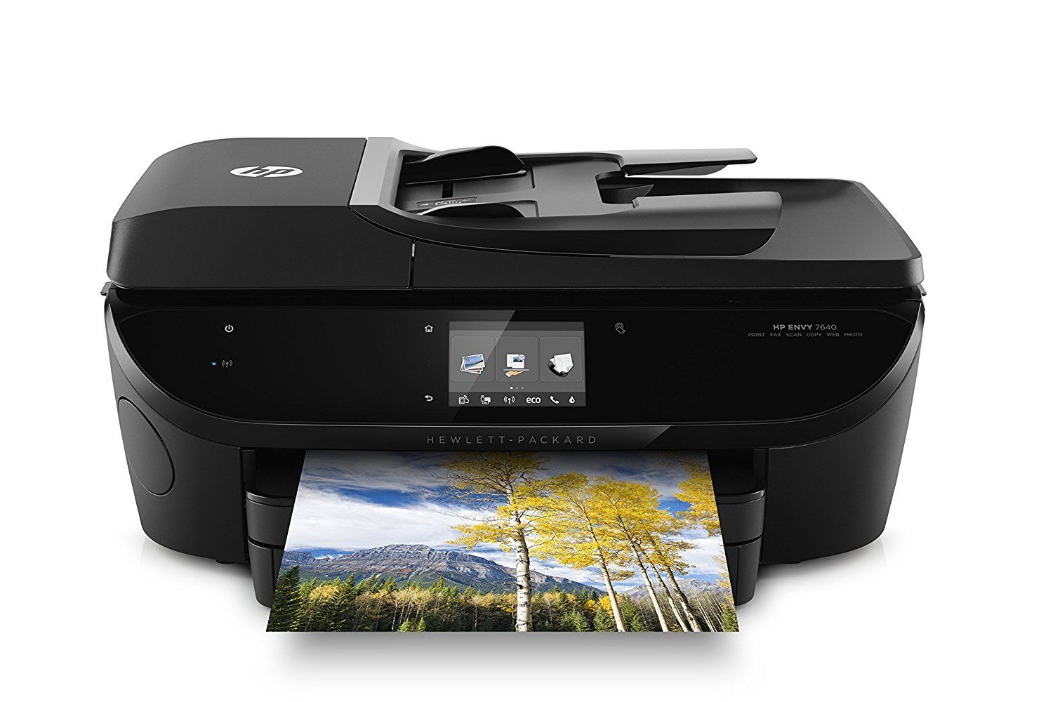 HP Envy 7640 All in One Color Photo Printer sepiadesk