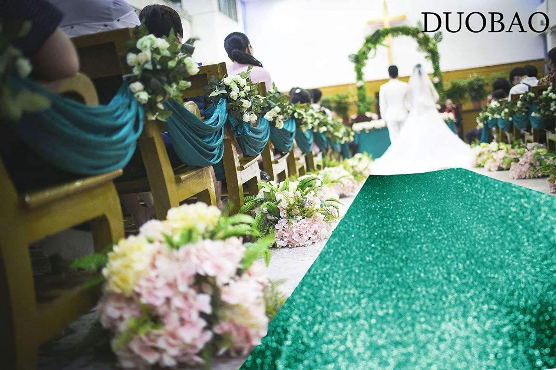 Aisle runner for wedding 2ftx15ft sequin carpet sequin