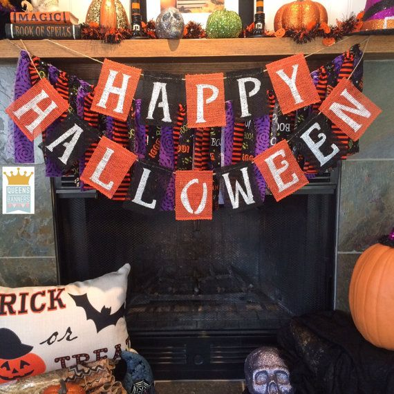 Halloween Banner Spooky Banner Halloween Birthday By
