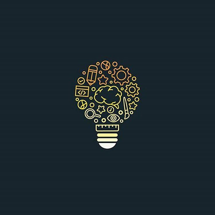 Creativity Bulb Logo Idea Design Made